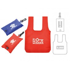 Foldable Bag with Pouch