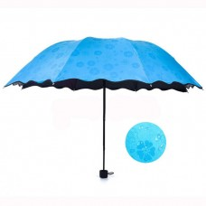 Water Activated Color Changing Flower Print Umbrella