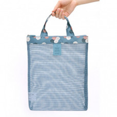 Coating Mesh Handy Pouch
