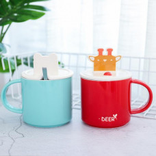 Mobile Phone Holder Ceramic Cup