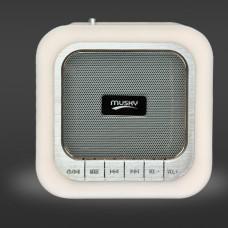 Alarm Clock Bluetooth Speaker Light