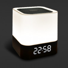 Alarm Clock Bluetooth Speaker Light