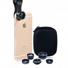 5 in 1 Mobile Camera Lens Set in Pouch