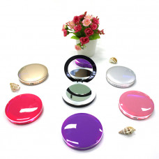LED Dual Mirror Power Bank-Circle