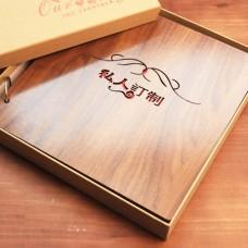 "12"" DIY Wood Scrapbook"