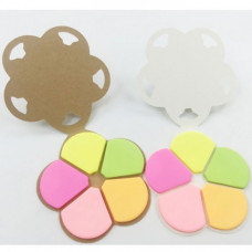 Flower Sticky Notepad