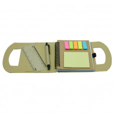 Eco Notebook with Sticky Note