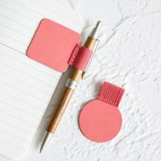 Self-adhesive PU Pen Holde