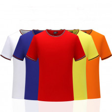 Threaded Collar T Shirt