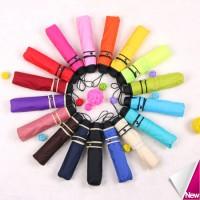 21'' UV Protection 3 Folding Umbrella - Solid