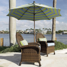 Luxurious Wood Parasol